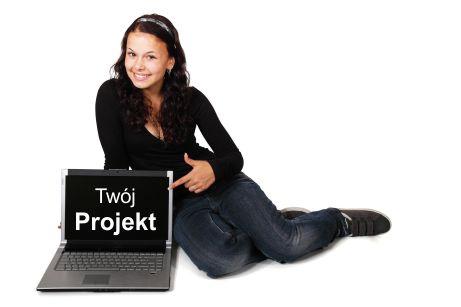 Projekty dla druku, reklamy, internetu drukarnia Lubliniec wykonuje